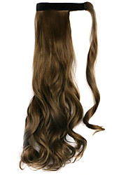 Wig Stuffy Cyan 45CM High-Temperature Wire Strap Style Long Hair Ponytail Colour 68