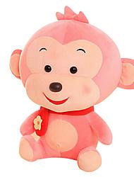 Fubao macaco macaco mascote zodíaco macaco fantoche boneca segura rosa 50 centímetros brinquedo de pelúcia