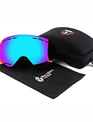 gafas de esquí wosawe doble UV400 anti-niebla gafas de máscara de esquí de fondo masculino mujeres nieve de protección UV gafas de
