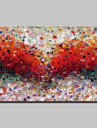 grand format peint à la main moderne toile abstraite peinture à l'huile peinture murale image avec cadre étiré prêt à accrocher