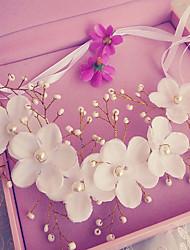 Femme Imitation de perle / Tissu Casque-Mariage / Occasion spéciale / Extérieur Serre-tête 1 Pièce