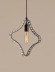 Crystal Pendant Lights country Creative Retro Industrial Bar Table Restaurant loft light Fixture