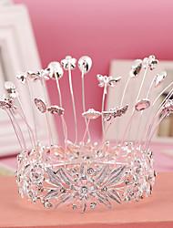 Women's Rhinestone / Alloy Headpiece-Wedding / Special Occasion Tiaras 1 Piece