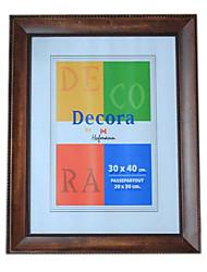 30 * 40 * 2 madeira maciça estilo europeu / americano Vintage picture frame