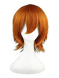 Shirobako-Roxas-Oranje-35-Cosplay Pruiken-