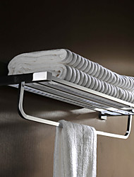 High Quality Boutique Hotel Dedicated Brass Bathroom Towel Warmer - Silver