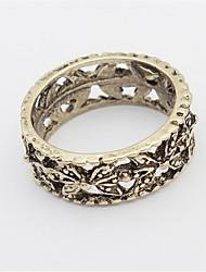 Ringe Damen / Herren / Paar / Unisex Ohne Stein Legierung Legierung 4.0 / 6 Gold / Silber