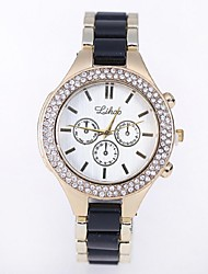 Women's Fashion Watch Quartz Casual Watch Alloy Band Multi-Colored Brand