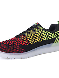 Running Shoes LED's Shoes Men's Shoes Outdoor / Athletic / Casual Customized Materials Fashion Sneakers Blue / Red / Navy