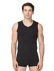 Men's Sleeveless Plus Size Sport Slim Resile Breathe Freely Tank Tops,V Neck Casual Solid