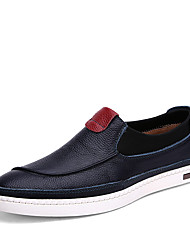 Men's Shoes Casual Leather Loafers Black / Blue / Brown