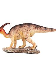 Jurassic Park Simulation Models With Plastic Dinosaur Toy Model Of Ultra-Realistic Dragon Parasegment