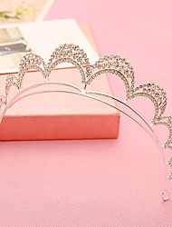 Women's / Flower Girl's Rhinestone / Alloy Headpiece-Wedding / Special Occasion Tiaras / Headbands 1 Piece