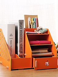 Desktop Storage Box Creative Wood Folder