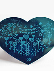bluezoo de metal stamping art 05 do prego