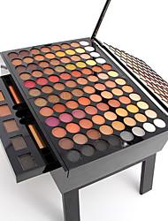 180 Palette de Fard à Paupières Sec Fard à paupières palette Poudre Grand Maquillage Quotidien
