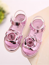 Girls' Shoes Casual Comfort PU Sandals Pink / Gold