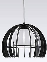 40W Campestre LED Pintura Metal Lámparas Colgantes Sala de estar / Dormitorio / Baño / Habitación de estudio/Oficina / Sala de niños