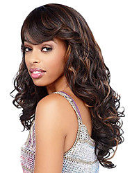 24inch Beautiful Curly Long Synthetic Hair Wig