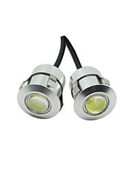 10x blanc DC12V 9w aigle oeil conduit lampe automatique de voiture de lumière de sauvegarde en cours d'exécution DRL jour