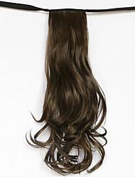 onda de luz de água loira tipo de curativo sintético rabo de cavalo peruca de cabelo (cor 8-A)