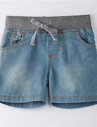 Boy's Cotton Jeans,Summer Solid