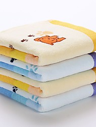 2pc Pack Cartoon Dog Face Towel Wash Towel 100% Cotton High Quality Super Soft
