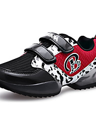 Boy's Athletic Shoes Spring / Fall Comfort PU Casual Flat Heel Magic Tape Black / Green / Red Sneaker