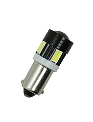 2x lumière T4W 5730 BA9s 6smd blanc arrière latéral projecteur ampoule led intérieur de la voiture de la lampe