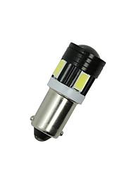 2x projector cauda lado branco de luz T4W 5730 BA9S 6smd levou bulbo carro interior lâmpada