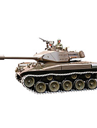 Constant Dragon Remote Control Tank 1/16 Wark Bulldog M41A3 Metal Smoke at 3839-1 Electric Toy Tanks