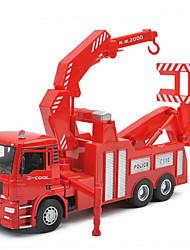 veículos de resgate carro de brinquedo salvamento do fogo 01:32 liga de brinquedo modelo de carro infantis (2pcs)