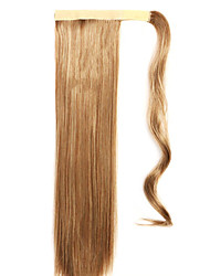 Brown Straight Mixing Straight Hair Wig Ponytails 10/613