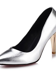 Women's Shoes  Stiletto Heel Heels / Pointed Toe Heels Wedding / Party & Evening / Dress Black / Pink / Silver / Gold