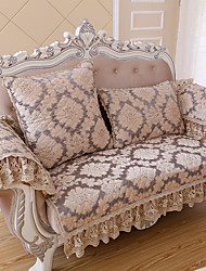 European Classical Quilted Sofa Cover High-grade Chenille Armrest Sofa Towel Slip-resistant Fabric Sofa Cushion