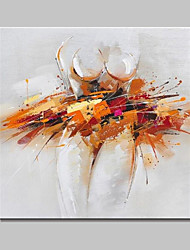 lager pintados à mão pintura a óleo abstrata moderna da imagem da arte da parede da lona para casa Whit quadro pronto para pendurar