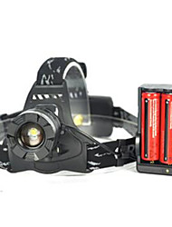 3000LM XM-L T6 LED Zoomable Bicycle Head light Torch Rechargeable 18650 Headlamp