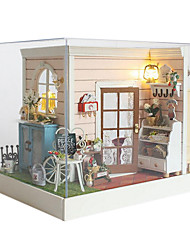 Chi Fun House Diy Cabin House Sandy Manual Model Creative Gifts Happy Hour