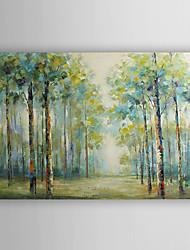 ручная роспись маслом пейзаж лето лес с растянутыми кадр 7 стены arts®