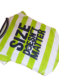 Hunde T-shirt Grün Hundekleidung Sommer Zebra