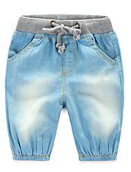 Brand Kids Boys Jeans 2016 Fashion Children Jeans Pants Elastic Waist Kids Trousers Children Clothing