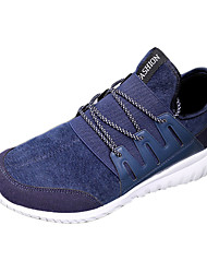 Men's Shoes Casual Fabric Fashion Sneakers Black / Blue / Gold