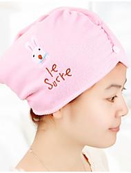 """Serviette pour cheveux-Broderie- en100% Polyester-55*21cm(21.6""""*8.3"""")"""