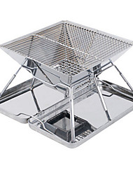 Stainless Steel Folding Barbecue Grill Rack Portable Barbecue Stove