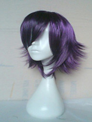 Popular Purple Color  Wig  Capless   Synthetic Wig Long Straight Hair Wigs