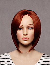 Capless Colorful Short Length High Quality Natural Straight Synthetic Wig