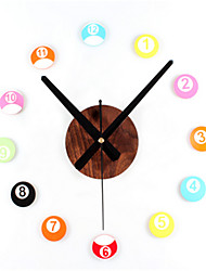 Stereo DIY Fun Billiard Wall Clock