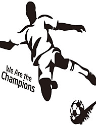 DIY Sport Football Vinly Wall Sticker for Boys Rooms Wall Art Decal Home Decoration Wall Mural