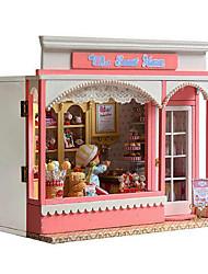 diversión chi casa choza bricolaje cabaña Dulces de San Valentín regalos del día creativas casa de regalo hecho a mano