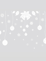 Wall Stickers Wall Decals Style Christmas Balls PVC Wall Stickers